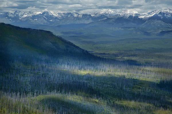 Montana Mountain Vista #3 Poster