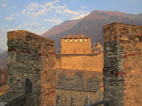 Poster featuring the photograph Montebello - Bellinzona, Switzerland by Travel Pics