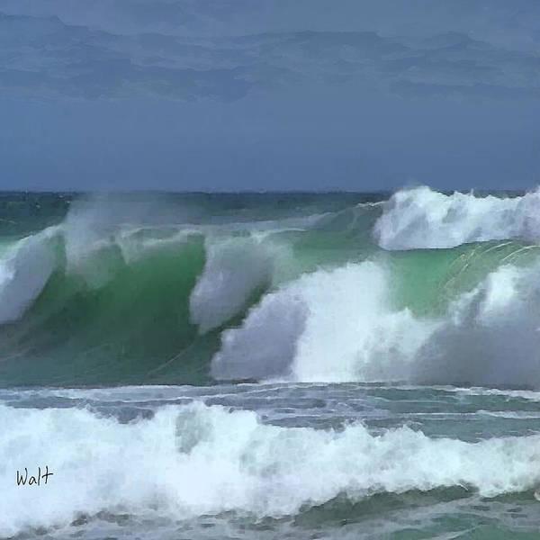 Monterey Surf Poster