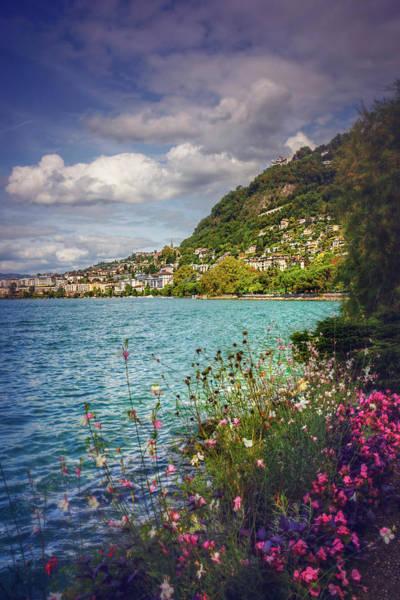 Montreux Lake Geneva  Poster
