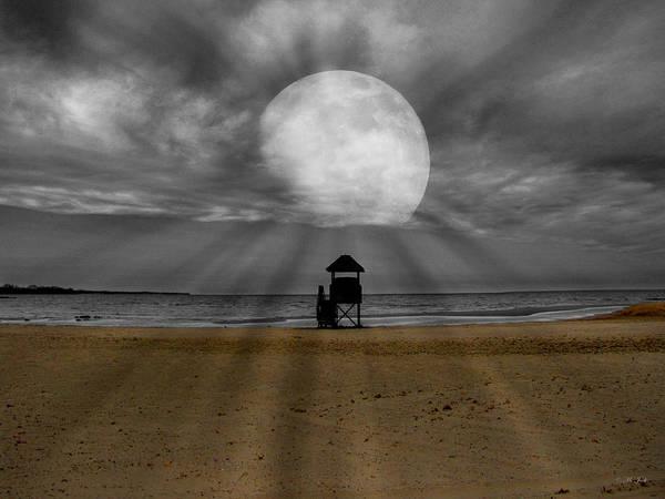 Moon Beams Poster