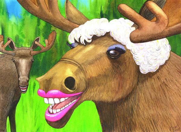 Moose Lips Poster