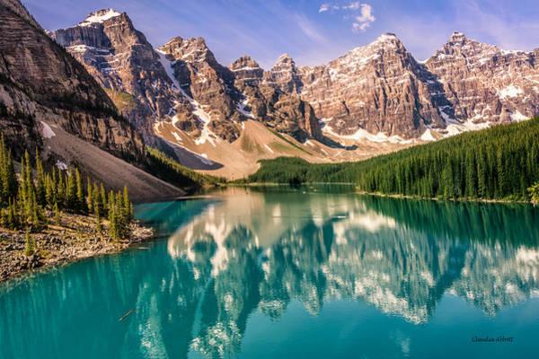 Moraine Lake Valley Of The Ten Peaks Poster