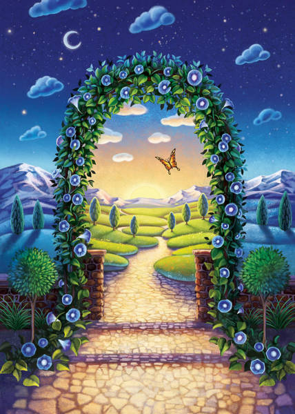 Morning Glory - Awaken To Magic Poster