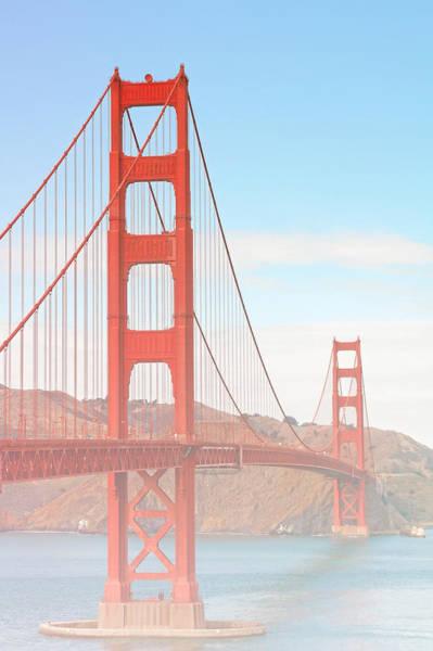 Morning Has Broken - Golden Gate Bridge San Francisco Poster