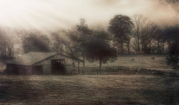 Morning In Boxley Valley Poster
