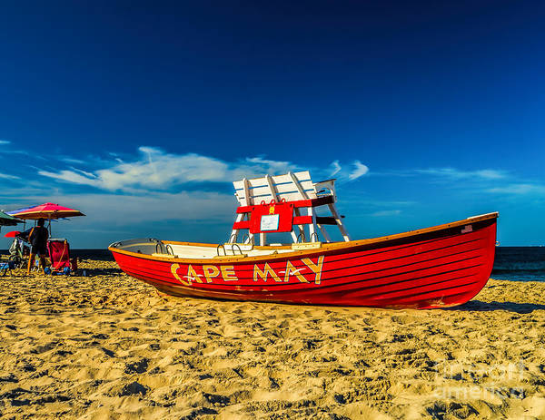 Morning In Cape May Poster