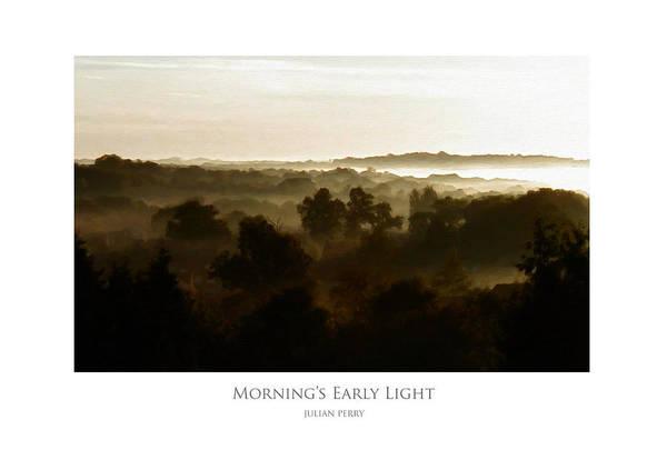 Morning's Early Light Poster