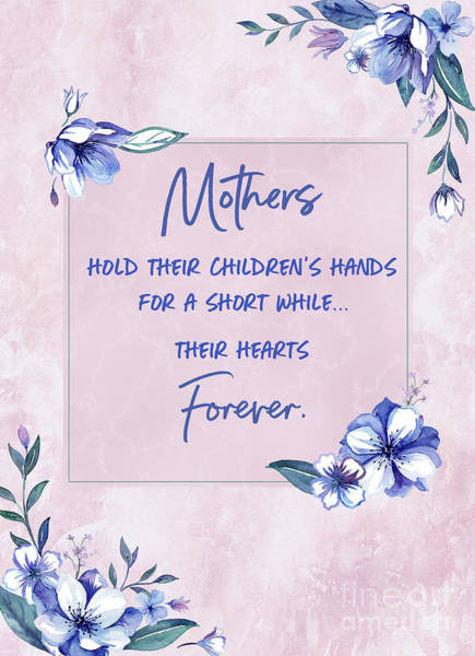 Mothers And Their Children Poster