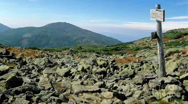 Mount Jefferson - White Mountains New Hampshire  Poster