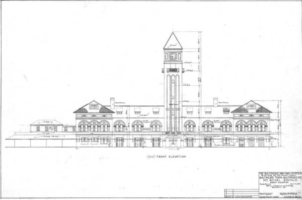 Mount Royal Station Poster