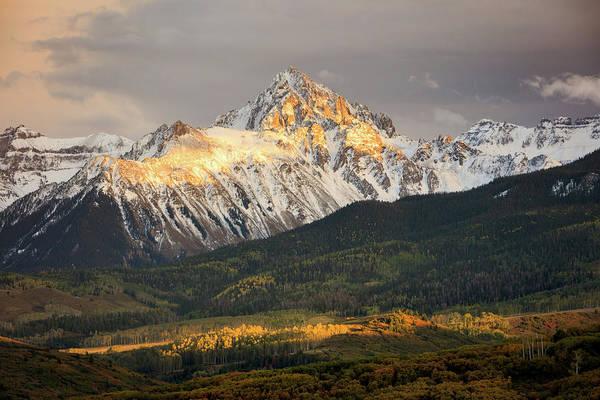 Mount Sneffels Sunset Poster