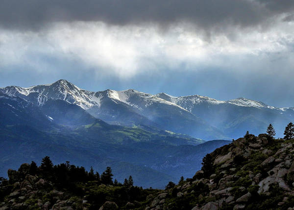 Mountain Moodiness Poster