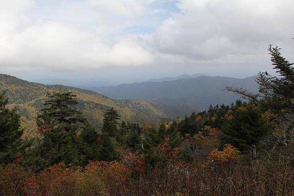 Mountain Ridge View Poster