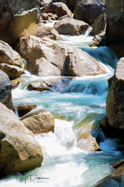 Mountain Spring Water Poster