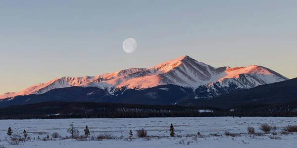 Mt. Elbert Sunrise Poster