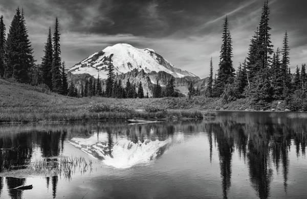 Mt Rainier In Reflection Poster
