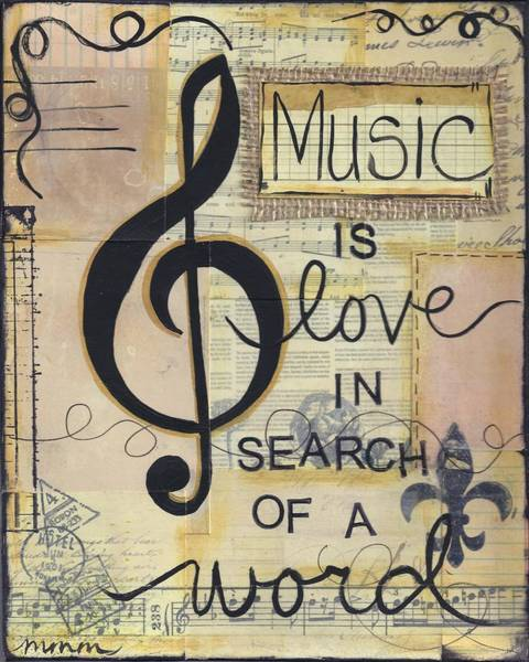 Music Is Love Poster