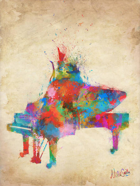 Music Strikes Fire From The Heart Poster