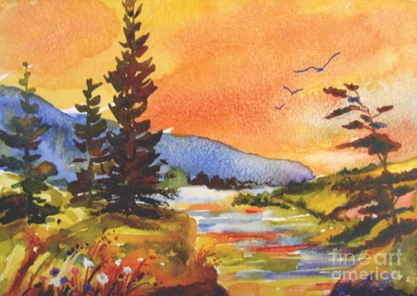 Muskoka Sunset Poster