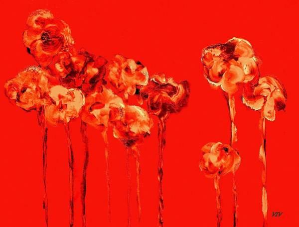 My Garden - Red Poster