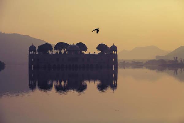 Mystic Jal Mahal, Jaipur, India Poster