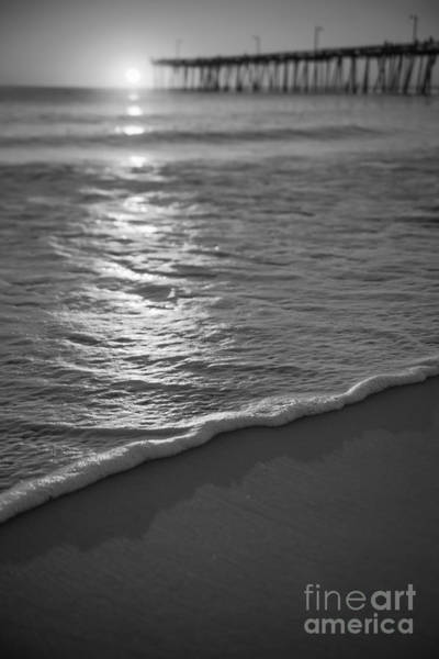 Nags Head First Light Bw Poster
