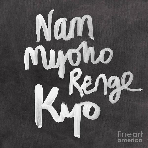 Nam Myoho Renge Kyo Poster
