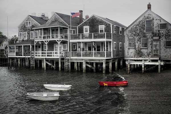 Nantucket In Bw Series 6139 Poster