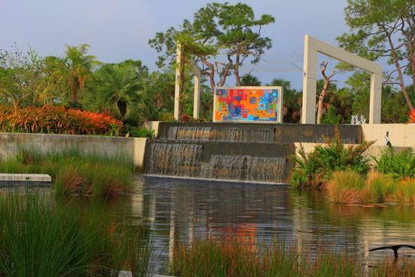 Naples Botanical Garden Poster
