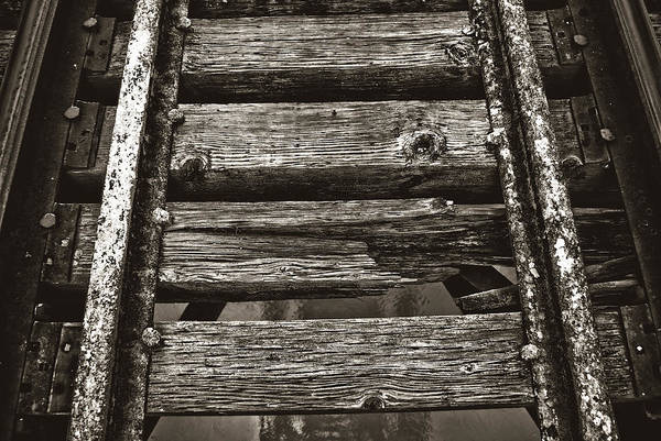 Narrow Gauge Tracks #photography #art #trains Poster