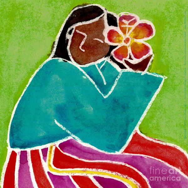 Native Girl Poster