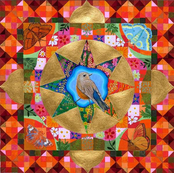 Nature Quilt Poster