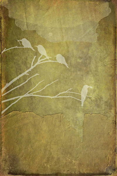 Nature Study In Gold  Poster