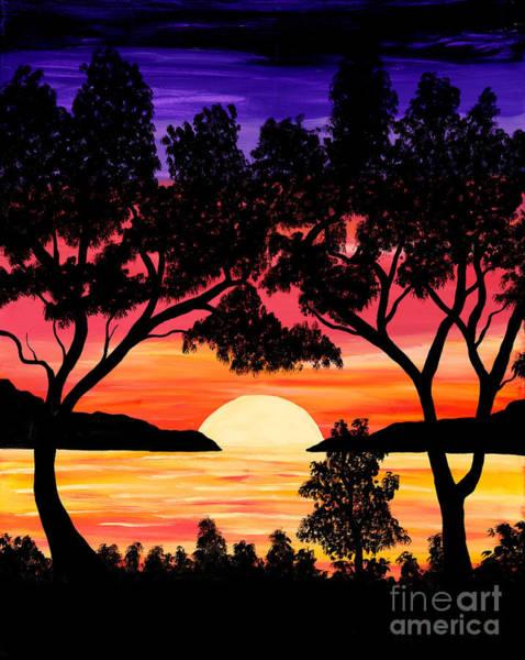 Nature's Gift - Ocean Sunset Poster