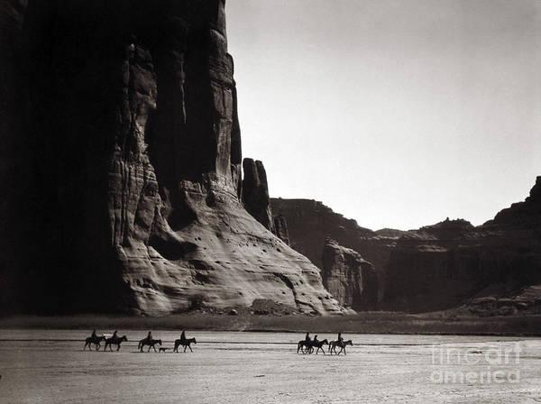 Navajos Canyon De Chelly, 1904 Poster