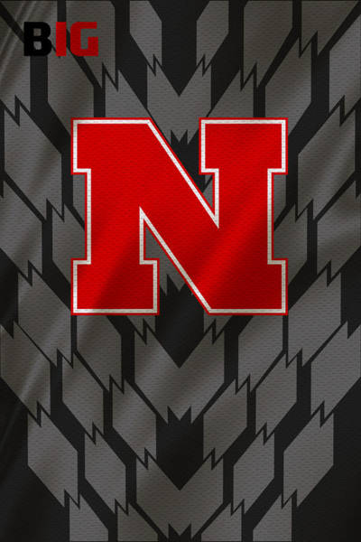 Nebraska Cornhuskers Uniform Poster