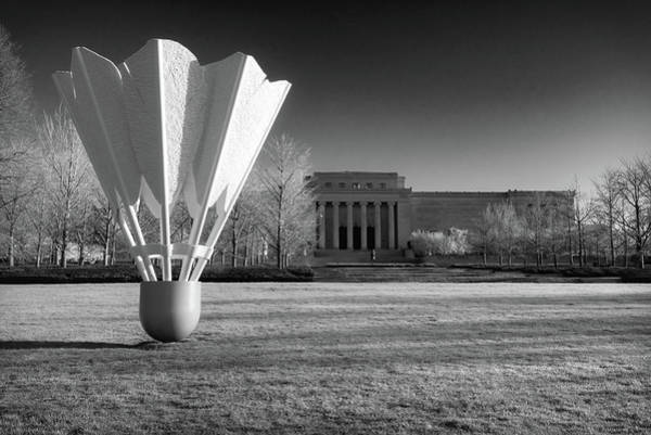 Nelson Atkins Art Museum In Infrared - Kansas City Poster