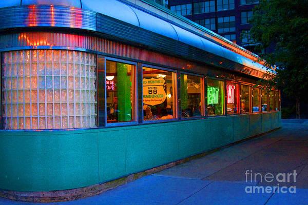 Neon Diner Poster
