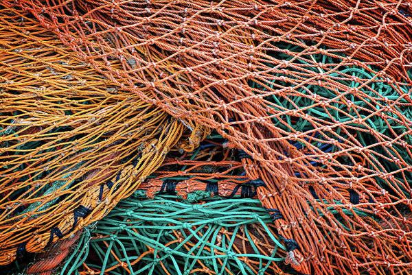 Nets On Skye Poster