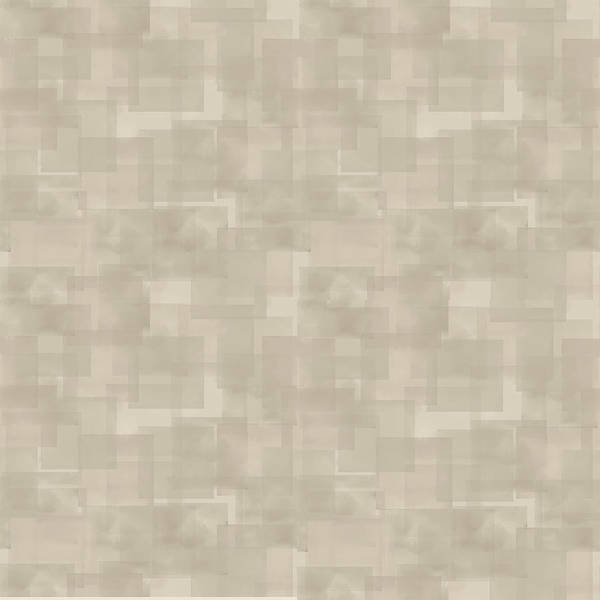 Neutral Brown Abstract Pattern Poster