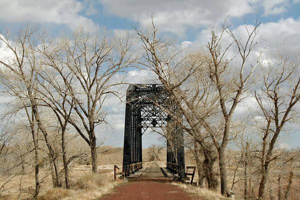 Nevada Railroad Bridge Poster