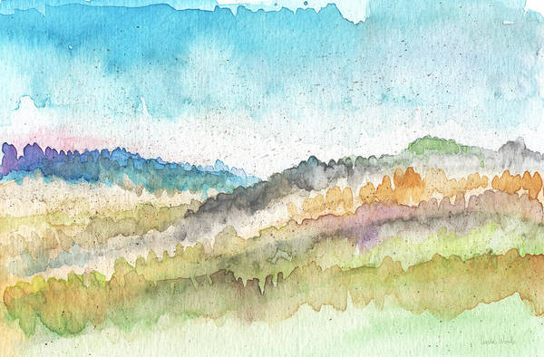 New Morning- Watercolor Art By Linda Woods Poster