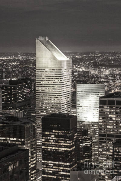 Poster featuring the photograph New York Citigroup Center  by Juergen Held