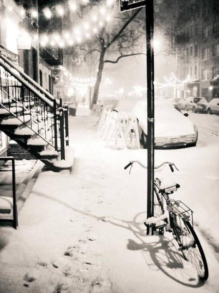 New York City - Snow Poster