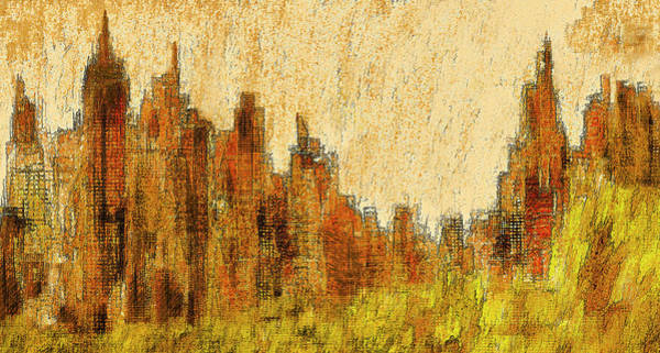 New York City In The Fall Poster