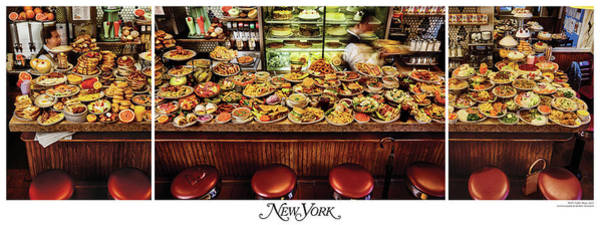 Poster featuring the photograph The New York Diner by New York Magazine