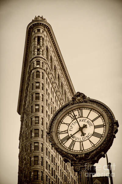 Poster featuring the photograph New York Flatiron by Juergen Held