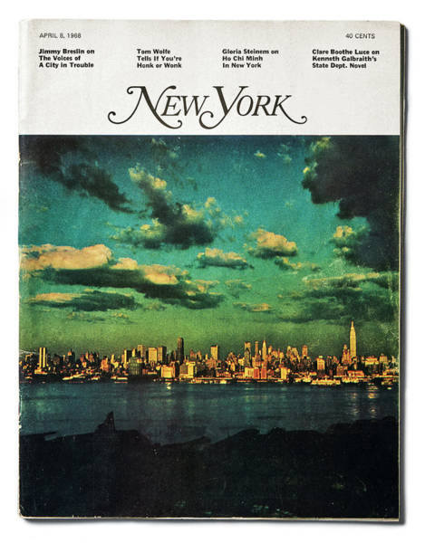 Poster featuring the photograph New York by Jay Maisel