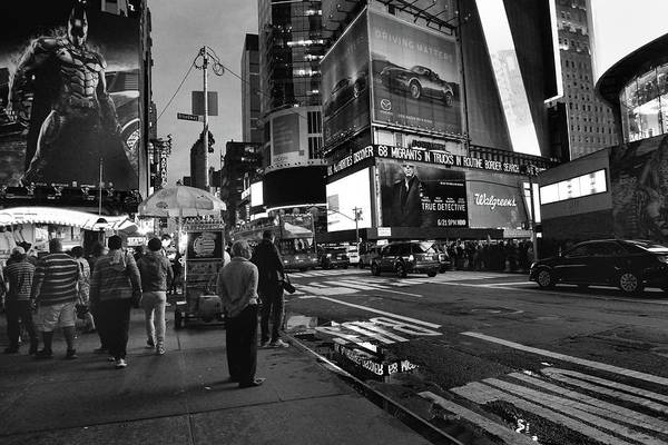 Poster featuring the photograph New York, New York 1 by Ron Cline